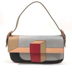 Authentic Fendi Baguette Mania 3D Colorblock Bag